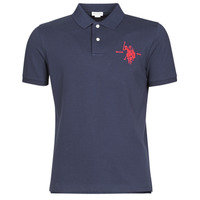 material Men short-sleeved polo shirts U.S Polo Assn. COLLAR POLO Marine