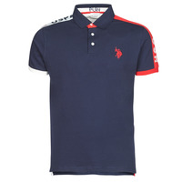 material Men short-sleeved polo shirts U.S Polo Assn. USPA PLAY POLO Marine