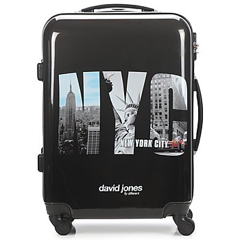 Bags Hard Suitcases David Jones STEBI 53L Black