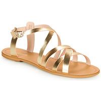 Shoes Women Sandals So Size IDITRON Gold