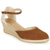 Shoes Women Sandals So Size JITRON Camel