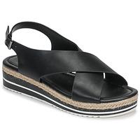 Shoes Women Sandals Moony Mood MELANIE Black
