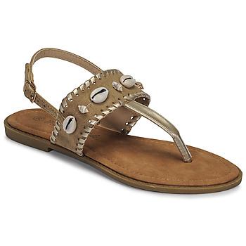 Shoes Women Sandals Moony Mood MARISE Beige
