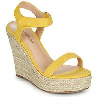 Shoes Women Sandals Moony Mood MARTA Yellow