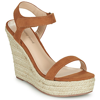 Shoes Women Sandals Moony Mood MARTA Camel