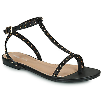 Shoes Women Sandals Moony Mood MARIELLE Black