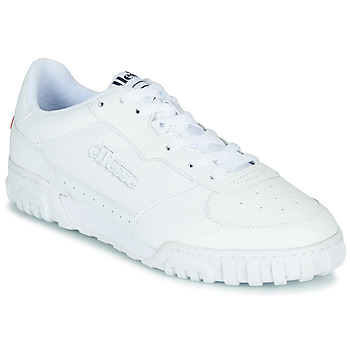 Shoes Men Low top trainers Ellesse TANKER LO LTHR AM White