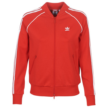 material Women Jackets adidas Originals SS TT Red