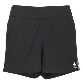 material Women Shorts / Bermudas adidas Originals 3 STR SHORT Black