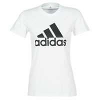 material Women short-sleeved t-shirts adidas Performance BOS CO TEE White