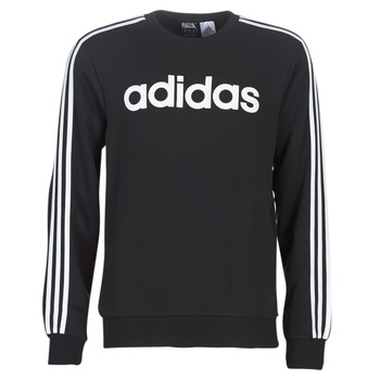 material Men sweaters adidas Performance E 3S CREW FL Black