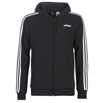 material Men sweaters adidas Performance E 3S FZ FT Black