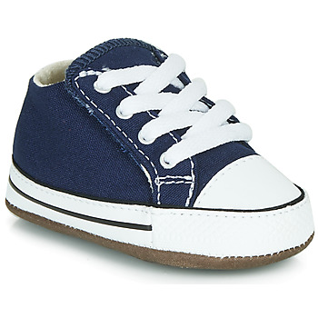 Shoes Children High top trainers Converse CHUCK TAYLOR FIRST STAR CANVAS HI Blue