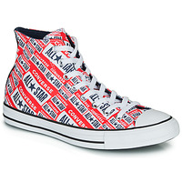Shoes Men High top trainers Converse CHUCK TAYLOR ALL STAR LOGO PLAY Red / Multi