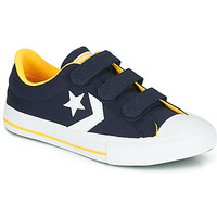 Shoes Boy Low top trainers Converse STAR PLAYER 3V VARSITY CANVAS Blue