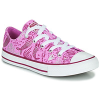 Shoes Girl High top trainers Converse Chuck Taylor All Star Underwater Party Pink / Multi