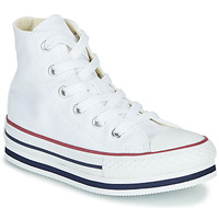 Shoes Girl High top trainers Converse CHUCK TAYLOR ALL STAR PLATFORM EVA EVERYDAY EASE White