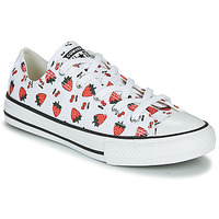 Shoes Children Low top trainers Converse CHUCK TAYLOR ALL STAR SPRING FRUITS White / Red