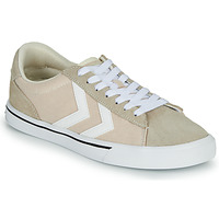 Shoes Low top trainers Hummel NILE CANVAS LOW Beige