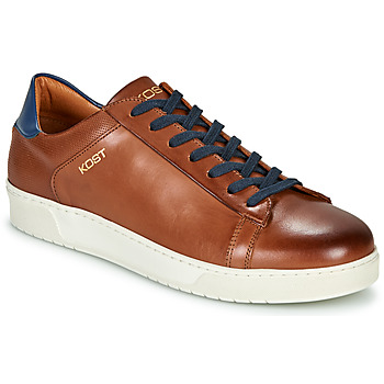 Shoes Men Low top trainers Kost BATTLE 36 Cognac