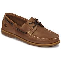 Shoes Men Boat shoes Lumberjack NAVIGATOR Brown