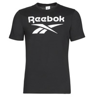 material Men short-sleeved t-shirts Reebok Classic GS REEBOK STACKED T Black