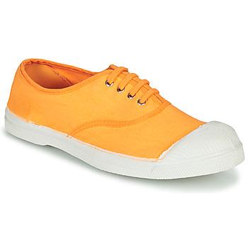 Shoes Women Low top trainers Bensimon TENNIS LACET Orange