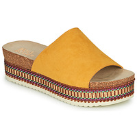 Shoes Women Mules Bullboxer 886014F1TAMUST Orange