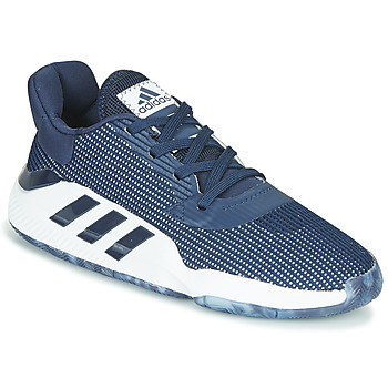 Shoes Men Basketball shoes adidas Performance PRO BOUNCE 2019 LOW Marine / White