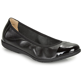 Shoes Women Ballerinas Caprice BOCLETTE Black