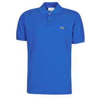 material Men short-sleeved polo shirts Lacoste POLO L12 12 REGULAR Blue / Roi