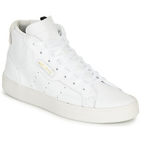 Shoes Women High top trainers adidas Originals adidas SLEEK MID W White