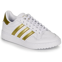 Shoes Women Low top trainers adidas Originals MODERN 80 EUR COURT W White / Gold