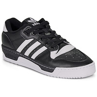 Shoes Men Low top trainers adidas Originals RIVALRY LOW Black / White