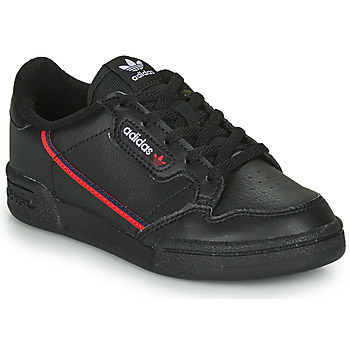 Shoes Children Low top trainers adidas Originals CONTINENTAL 80 C Black