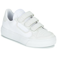 Shoes Children Low top trainers adidas Originals CONTINENTAL VULC CF C White / Beige