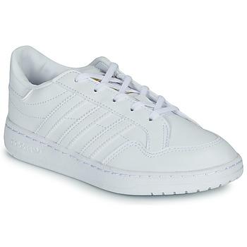 Shoes Children Low top trainers adidas Originals Novice C White