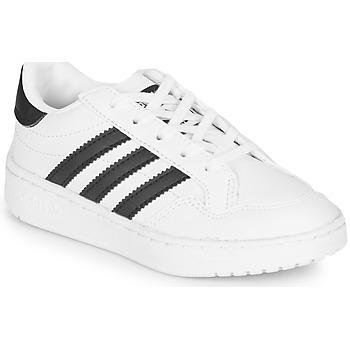 Shoes Children Low top trainers adidas Originals Novice C White / Black