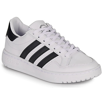 Shoes Children Low top trainers adidas Originals Novice J White / Black