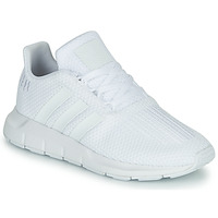 Shoes Boy Low top trainers adidas Originals SWIFT RUN C White