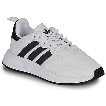 Shoes Children Low top trainers adidas Originals X_PLR 2 C White / Black