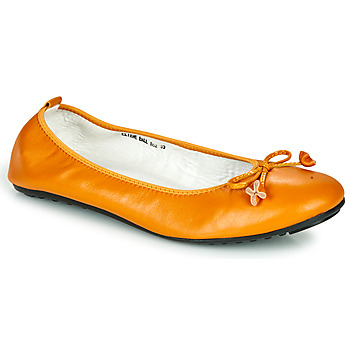 Shoes Women Ballerinas Mac Douglas ELIANE Ocre tan
