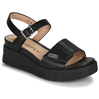 Shoes Women Sandals Stonefly PARKY 6 Black