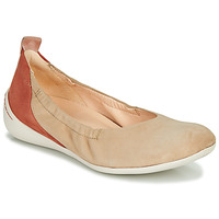 Shoes Women Ballerinas Think CUGAL Beige / Red