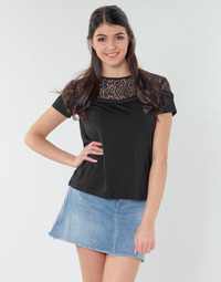 material Women Blouses Guess ALICIA TOP Black