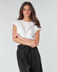 material Women Blouses Guess SS MALIKA TOP White