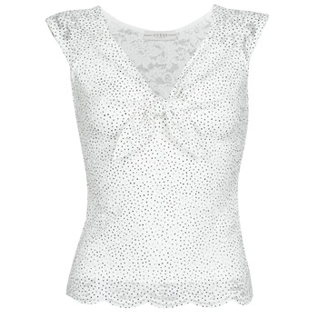 material Women Blouses Guess GIUNONE TOP White