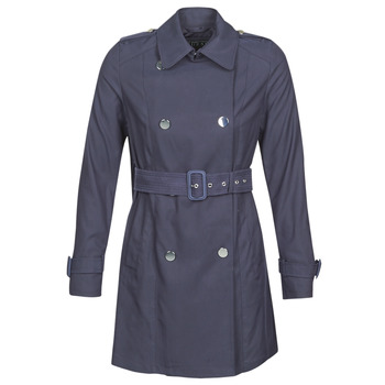material Women Trench coats Guess CECILIA TRENCH Marine
