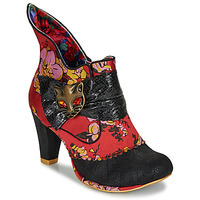 Shoes Women Ankle boots Irregular Choice MIAOW Red / Black