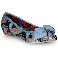 Shoes Women Ballerinas Irregular Choice MINT SLICE Pink / Blue